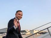 Президент Польши Дуда сегодня прибудет в Украину