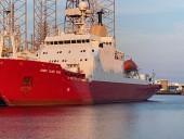 Приобретенный Украиной британский ледокол отправился из Дании в Одессу