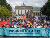 В Берлине прошла демонстрация за доступную аренду жилья