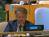 На сессии Генассамблеи ООН рассмотрят вопрос оккупированных территорий Украины