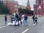 В Москве избили активистов во время акции