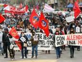 В годовщину путча в Чили произошли беспорядки