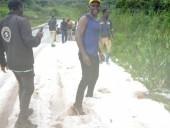 Повреждены крыши домов и плантации: в Камеруне выпал снег