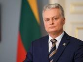 На сессии Генассамблеи ООН президент Литвы призвал усилить политику непризнания аннексии Крыма