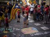 После задержания Пучдемона в Италии - сторонники независимости Каталонии вышли на улицы Барселоны