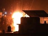 Израиль ракетами обстрелял площадку для производства ракет ХАМАС