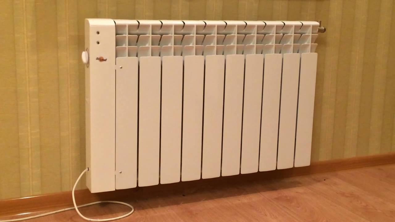 Варианты электроотопления  домов