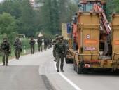Войска НАТО патрулируют границу Косово и Сербии после блокады грузовиков